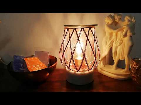 Rose Gold Candle (Scentsy Rose Gold Diamond Weave Wax Warmer Review 2019) Scentsy Catalogue UK
