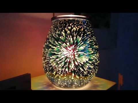 Nova Scentsy Warmer | Firework Style Electric Wax Warmer | Wickfreecandles.co.uk
