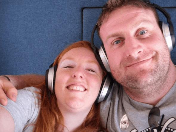 Alexandra and Scott Wickfree on Scentsy Incentive