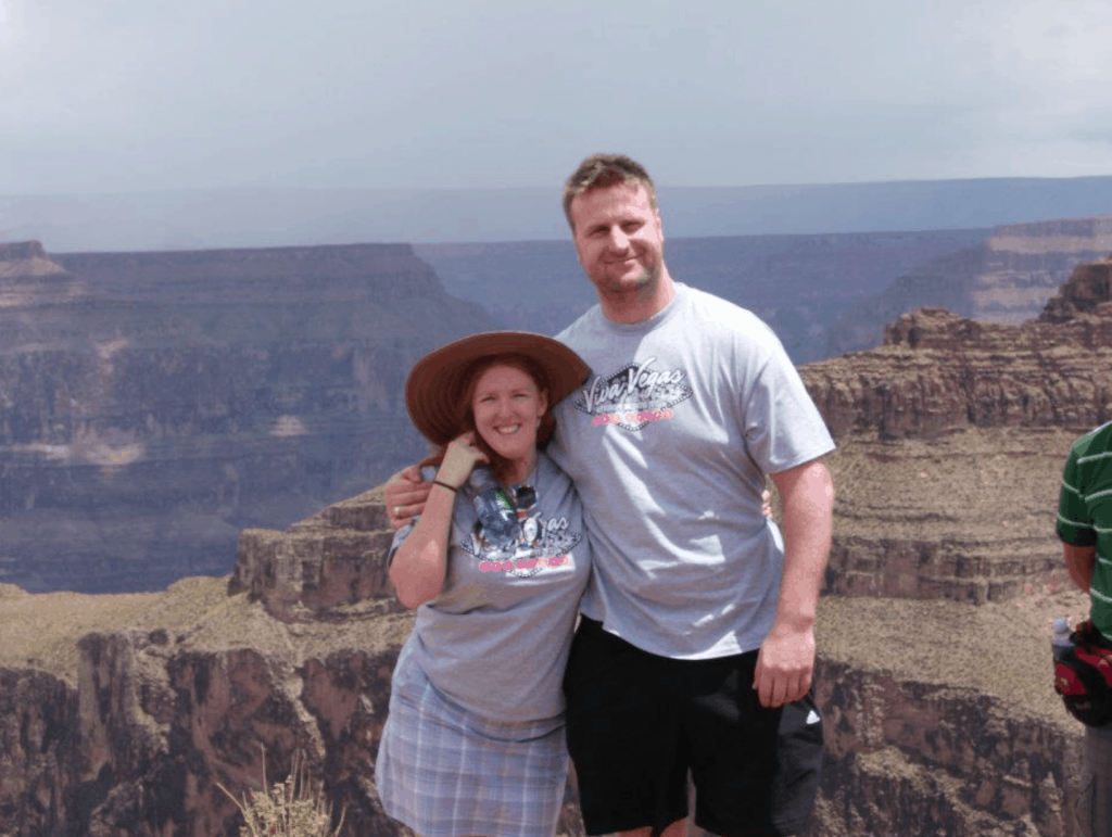 The Wickfrees from Scentsy UK visit the Grand Canyon