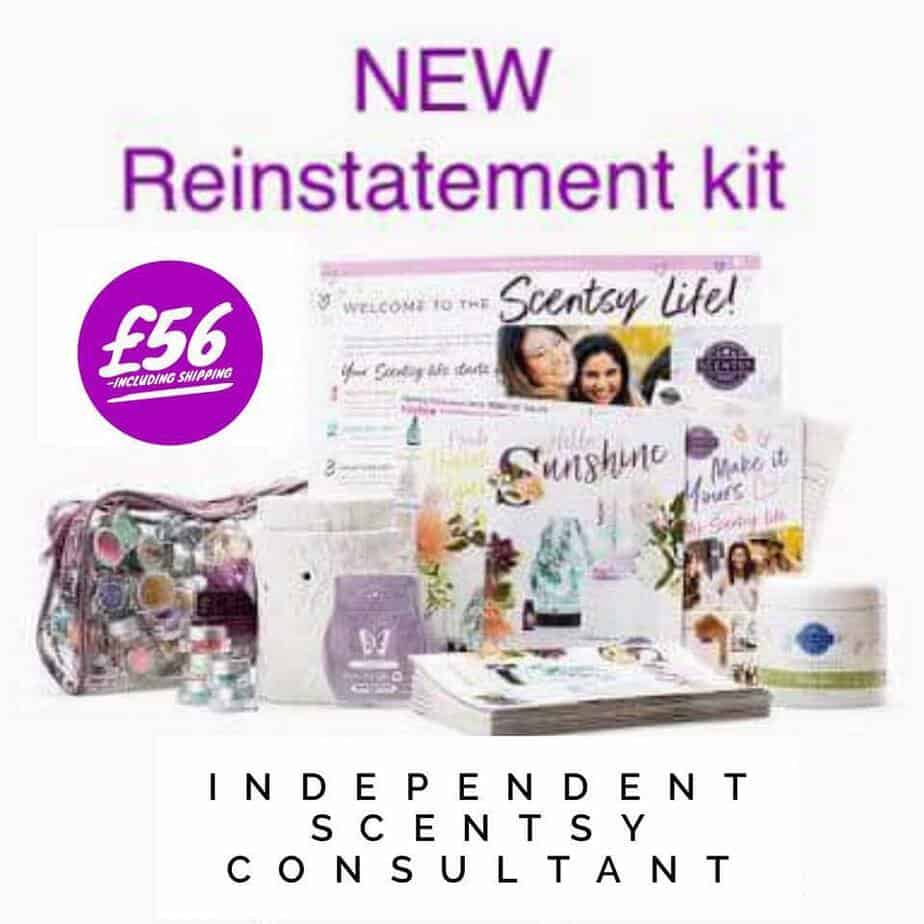 Scentsy Uk Reinstatement KIt