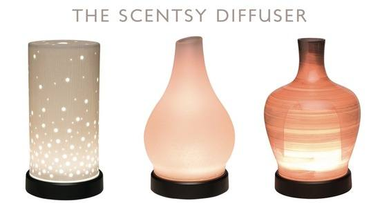 The Scentsy Essential Oil Diffuser