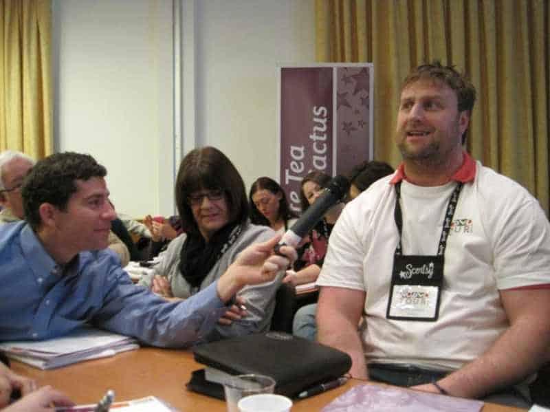 Scott Wickfree Gets Interviewed By Scenty's Dan Orchard