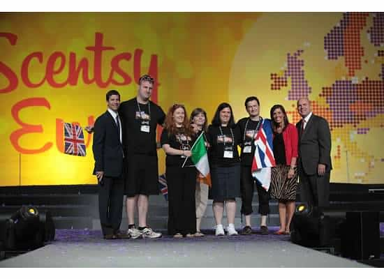 Wickfrees Walk the Stage At Scentsy Las Vegas Convention