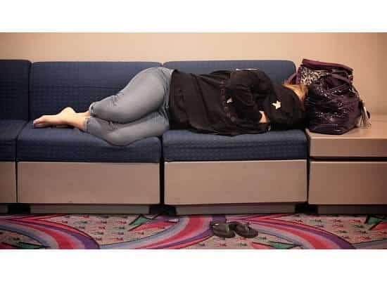 Alexandra Wickfree is Exhausted in Las Vegas