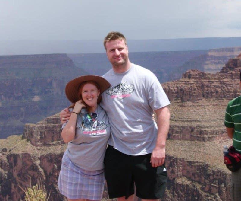 Alexandra and Scott Wickfree on Scentsy Incentive Trip 2012 to Las Vegas