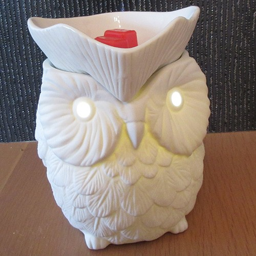 Owl Candle Warmer from Scentsy - Whoot Owl Wax Warmer