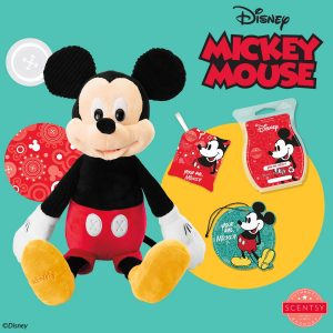 Mickey Mouse Products from the new Disney Collection by Scentsy
