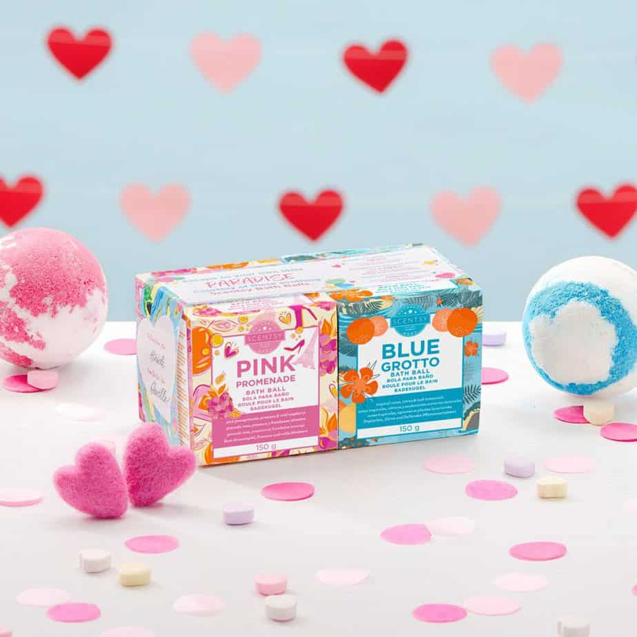 Scentsy Bath Bombs - the perfect Valentines Day Gift Idea For Pamper Lovers