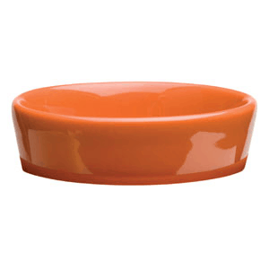 CHEVRON ORANGE - SCENTSY DISH ONLY