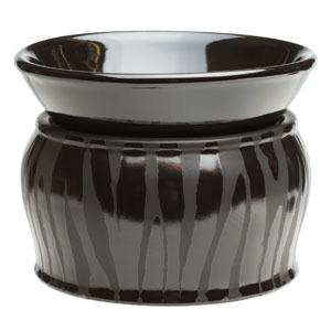 BLACK ZEBRA WAX WARMER FROM SCENTSY