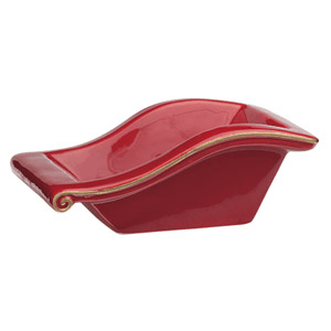 SANTA'S SLEIGH - SCENTSY DISH ONLY