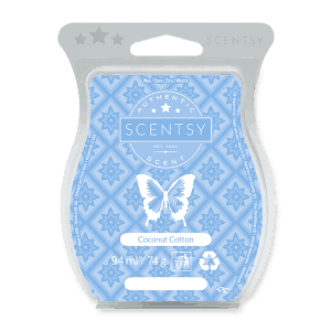 COCONUT COTTON SCENTSY WAX BAR