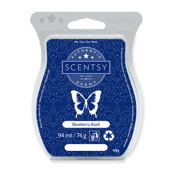 BLUEBERRY RUSH SCENTSY WAX BAR