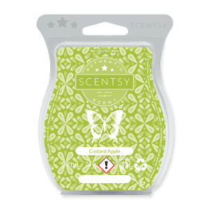 CUSTARD APPLE SCENTSY WAX BAR