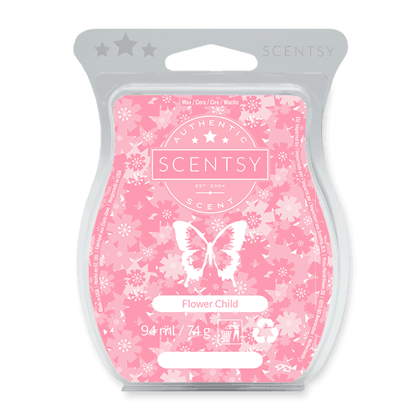 FLOWER CHILD SCENTSY WAX BAR