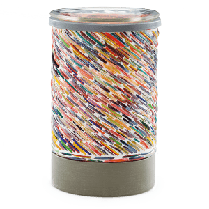 COLORS OF THE RAINBOW WAX WARMER FROM SCENTSY