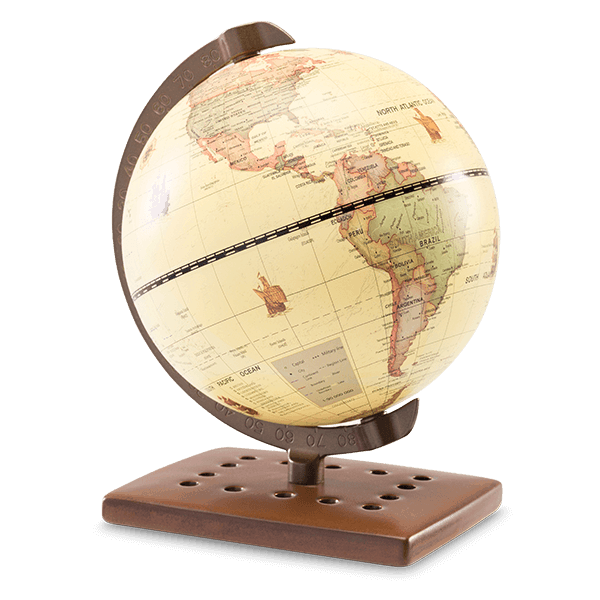 AROUND THE WORLD - SCENTSY DISH ONLY