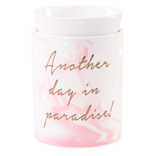 ANOTHER DAY IN PARADISE WAX WARMER FROM SCENTSY