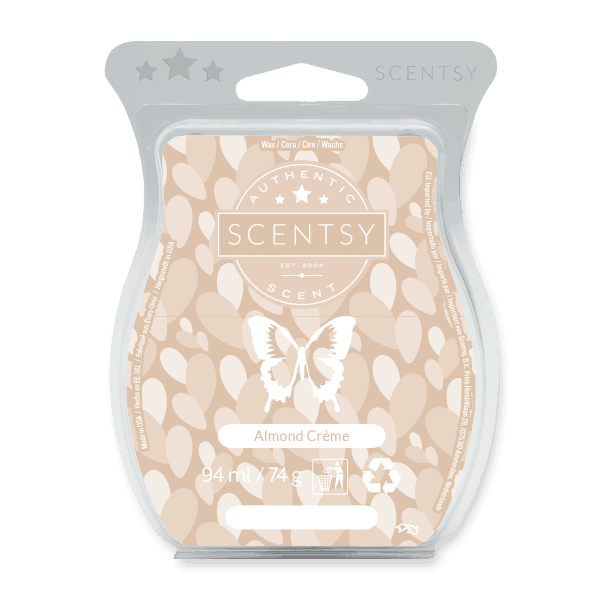 ALMOND CREME SCENTSY WAX BAR