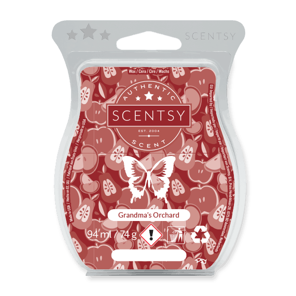 GRANDMA'S ORCHARD SCENTSY WAX BAR
