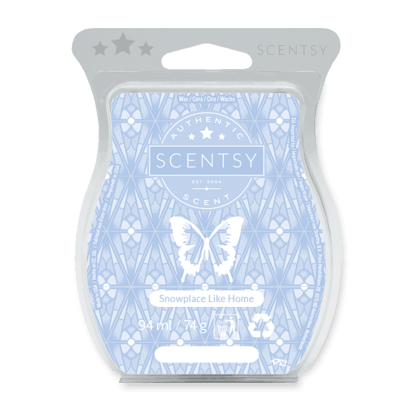 SNOWPLACE LIKE HOME SCENTSY WAX BAR