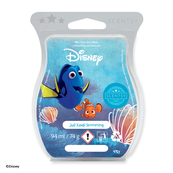 JUST KEEP SWIMMING – SCENTSY WAX BAR