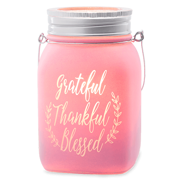 GRATEFUL, THANKFUL, BLESSED WAX WARMER FROM SCENTSY