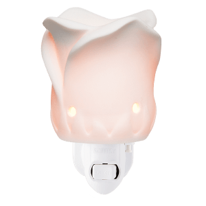 TEA ROSE PLUG IN WAX WARMER FROM SCENTSY