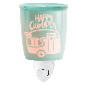 HAPPY CAMPER PLUG IN WAX WARMER FROM SCENTSY