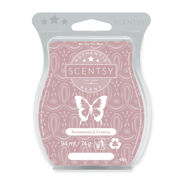 ROSEWOOD AND FREESIA SCENTSY WAX BAR