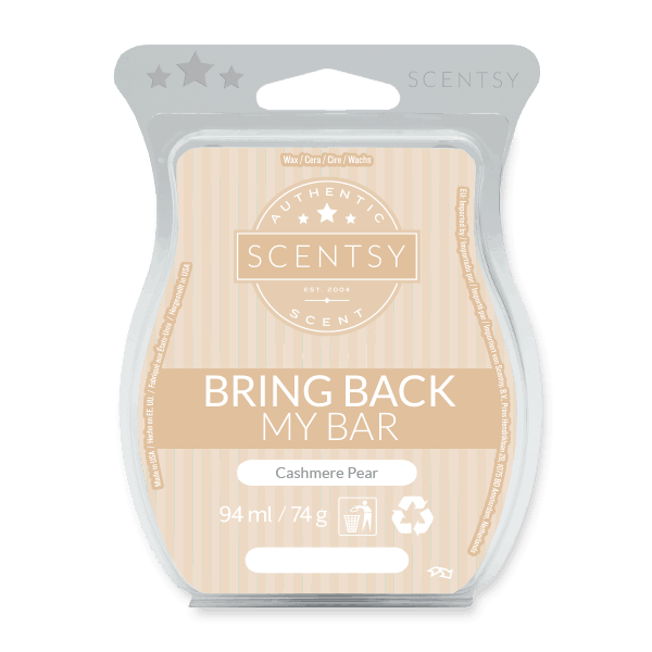 CASHMERE PEAR SCENTSY WAX BAR