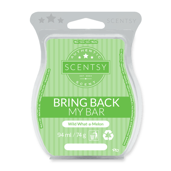 WILD WHAT-A-MELON SCENTSY WAX BAR