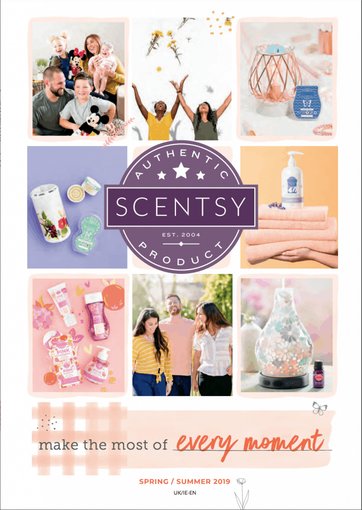 2019 Scentsy Catalogue for UK & Ireland For Spring/ Summer