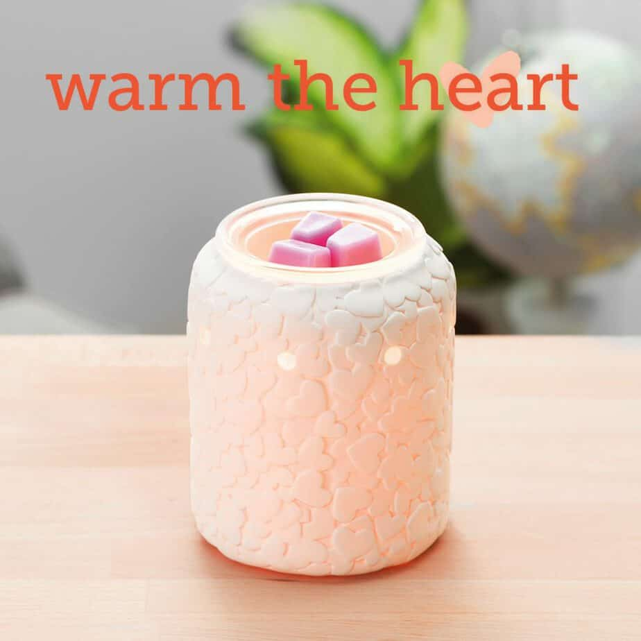 Share your heart Scentsy Wax Warmer - 2019 Scentsy Catalogue