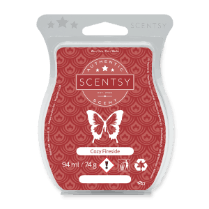 COZY FIRESIDE SCENTSY WAX BAR
