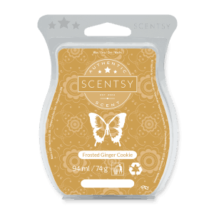 FROSTED GINGER COOKIE SCENTSY WAX BAR