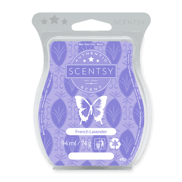 FRENCH LAVENDER SCENTSY WAX BAR