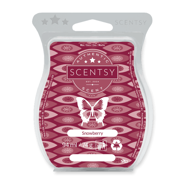 SNOWBERRY SCENTSY WAX BAR