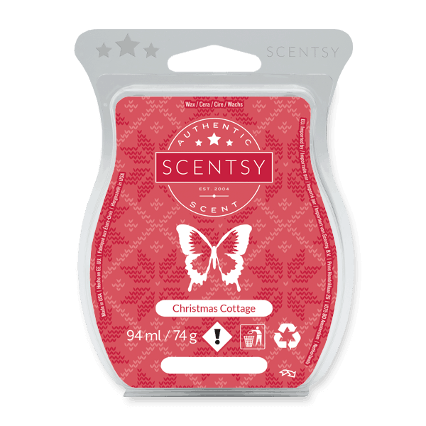 CHRISTMAS COTTAGE SCENTSY WAX BAR