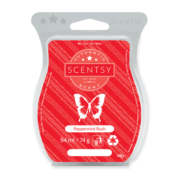 PEPPERMINT RUSH SCENTSY BAR