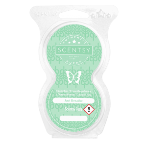 JUST BREATHE SCENTSY POD TWIN PACK