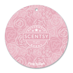 PINK TULIPS SCENTSY SCENT CIRCLE