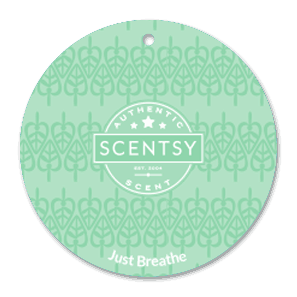 JUST BREATHE SCENTSY SCENT CIRCLE