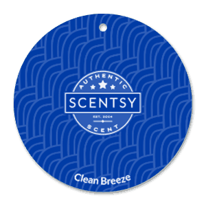 CLEAN BREEZE SCENTSY SCENT CIRCLE