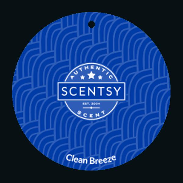 CLEAN BREEZE SCENTSY SCENT CIRCLE