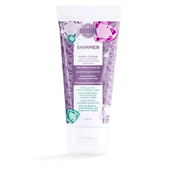 SHIMMER SCENTSY HAND CREAM