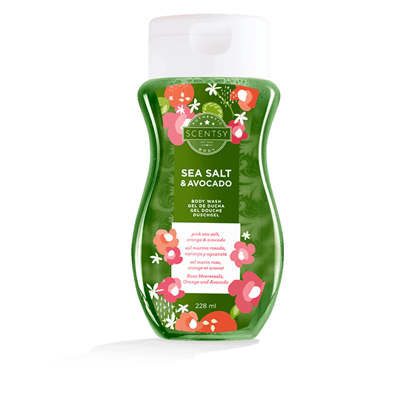 SEA SALT & AVOCADO SCENTSY BODY WASH