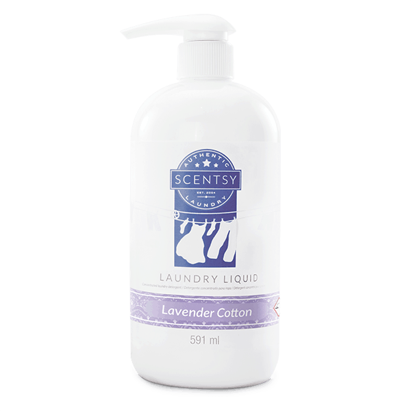 LAVENDER COTTON SCENTSY LAUNDRY LIQUID