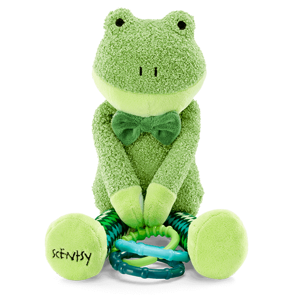 FINLEY THE FROG SCENTSY SIDEKICK + CANDY CRAVE FRAGRANCE